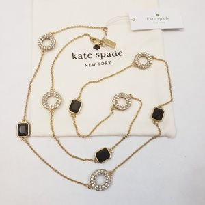 NWT Kate Spade Platform Chain Scatter Necklace